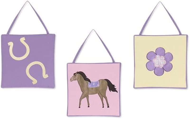 Sweet Jojo Designs Pretty Pony Horse Wall Hanging Accessories