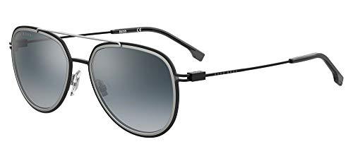 Hugo Boss BOSS 1193/S Negro Rutenio/Azul 56/19/145 hombres Gafas de sol