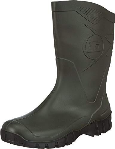 Dunlop K580011 PVC KUITLAARS Unisexe-Adultes Demi-botte Bottes en caoutchouc - Vert, 39.5 EU / 6.5 UK