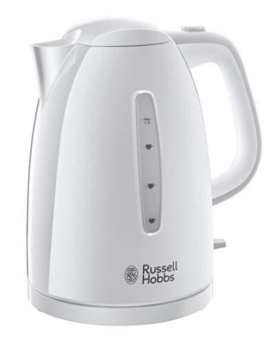 Russell Hobbs 21270-70 Bouilloire Electrique 1,7L Texture Ebullition Ultra Rapide - Blanc