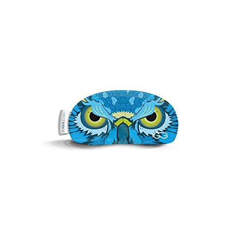 Soggle Mini Brillenschutz Sportbrillen Sonnenbrillen - Multifunktionsschutz für Brillen, Farbe:owl