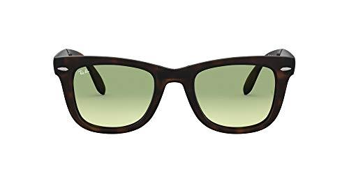 Ray-Ban Folding Wayfarer Gafas, Marrón, 29 Unisex Adulto