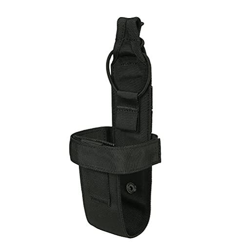 ABOOFAN Portabotellas Molle Simple Soporte para Botella de Agua Ligero para Exteriores Cinturón para hervidor de Agua para Juego CS Deporte al Aire Libre Camping (Estilo)