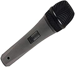 VocoPro Wired Dynamic Vocal Microphone, Black, MARK-7 (MARK7)