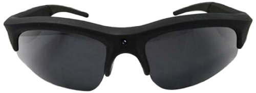SportXtreme OverLook GX-10 occhiali con videocamera HD incorporata, memoria 4GB, collegabile al TV