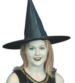 Halloween Chapeaux | PVC noir Witches Hat [Jouet]