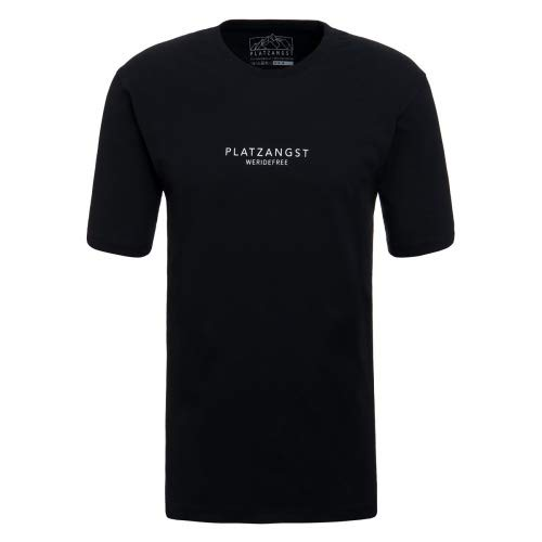 platzangst Type T-Shirt - Schwarz Größe XL