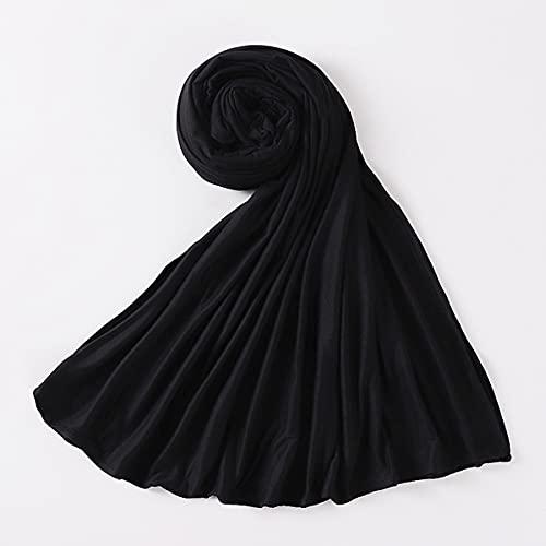 Bufanda Mujer Pañuelo Fulares Bandanas Ligero para Damas Cabello Cabeza Cuello Decoración,1,E