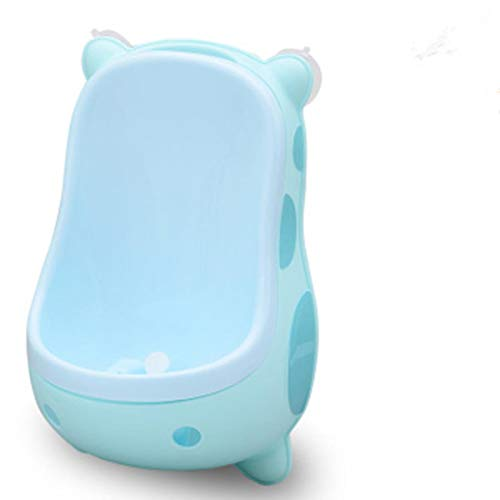 Baby Urinal Cartoon Cow Wall-Mounted Kids Potty Toilet Training Frog Children Stand Vertical Pee Infant Toddler For Boys Blue