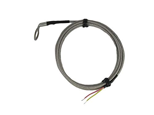 CHT Temperature Sensors K Type Thermocouple with 14mm id Washer Angled Bend for Cylinder Head Temperature