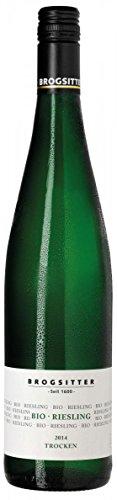 Weinkellerei Brogsitter Riesling BIO 2014 Trocken (6 x 0.75 l)