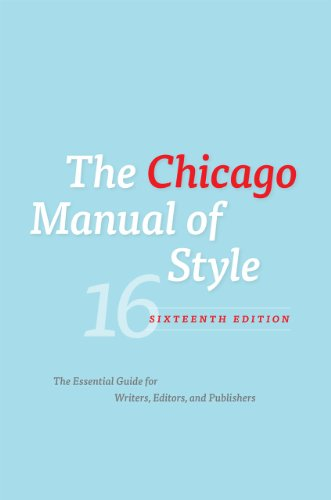 The Chicago Manual of Styleの詳細を見る