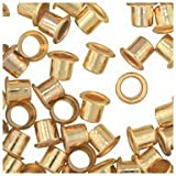 WidgetCo 1/4' Brass Shelf Pin Sleeves