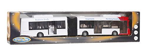 VEDES Großhandel GmbH - Ware 34500282 Speedzone Gelenkbus, bunt