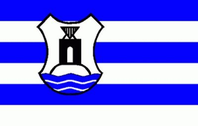 Flagge Fahne Norderney mit Wappen 90x150cm