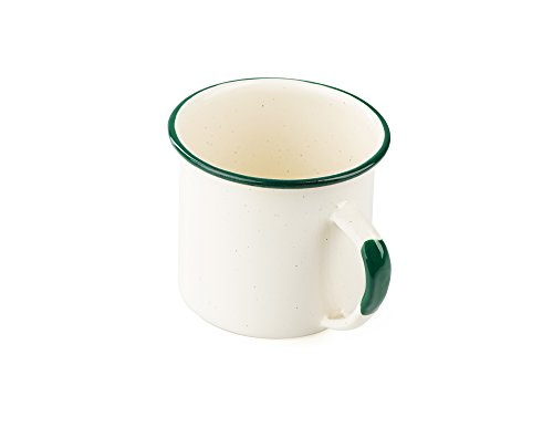 GSI Outdoors Deluxe Enamelware Cup Tasse, Mixte Adulte, Cream, Taille Unique