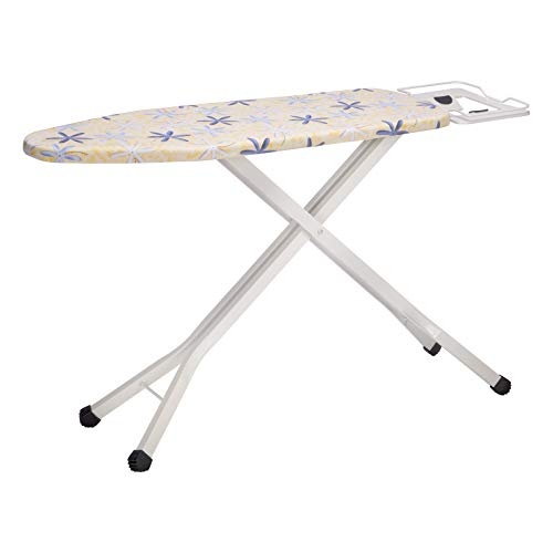 74-85cm E-starain Table de Planchar Altura Ajustable Plegable con Sistema de Seguridad Click Stop Table 110 x 30cm XDYYB06