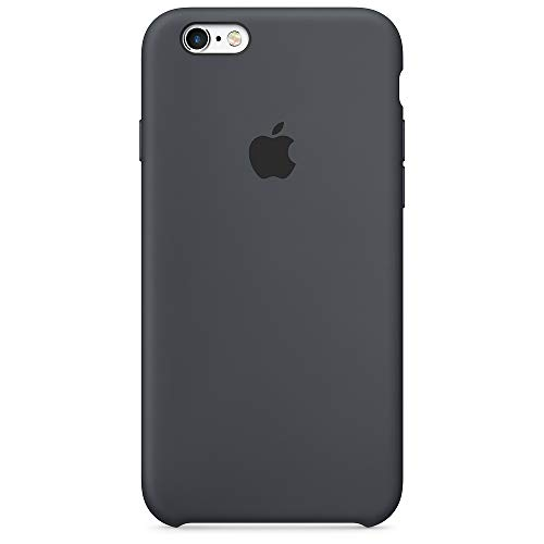 Capa Case Compatível Apple iPhone 6 e 6s (4.7 Pol.) Silicone (Aveludado) (Microfibra) Box Lacrada (Charcoal Gray)
