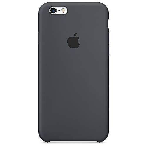 Apple Custodia in silicone (per iPhone 6s) - Antracite
