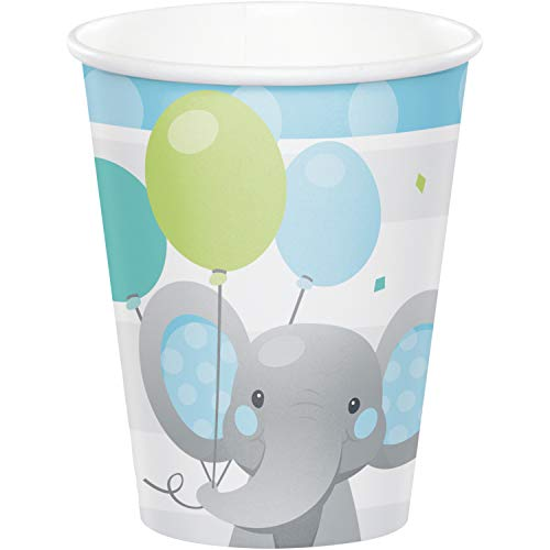 Find Bargain Enchanting Elephants Boy Cups, 24 ct