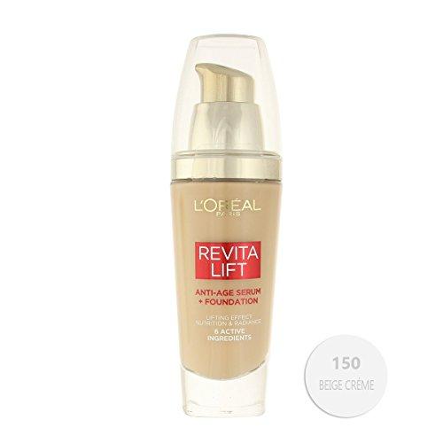L'Oreal Paris Revitalift Anti-Age Serum + Foundation 30ml - 150 Creamy Beige