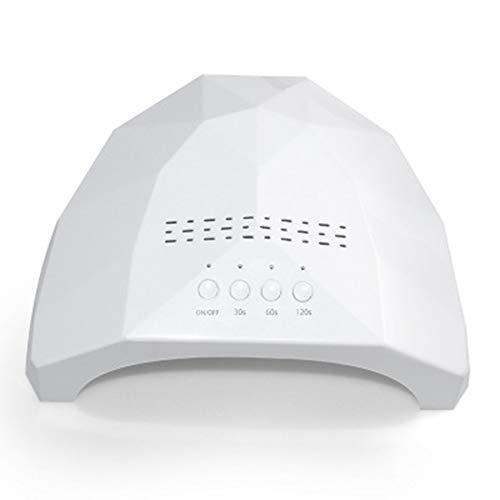 Lampada UV per nail art, 48 W, chiodo di asciugatura rapida, sorgente di sensore intelligente a doppia luce luminoterapia LED lampada riscaldante per unghie