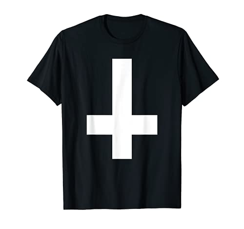 Croix inversée - Cadeau Occultisme Croix Satanistes T-Shirt