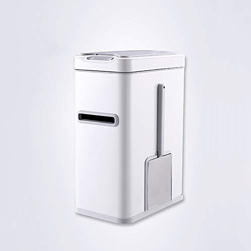 Bewegingssensor Automatische Prullenbak Intelligente Verzegelde Vuilnisbak RVS Prullenbak Kan Multifunctioneel 3 in 1/2 in 1, 7L Opslag Rubbish Recycler Touchless Rechthoekig Met Binnenste vat
