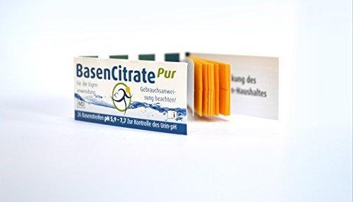 MADENA BasenCitrate Pur Urin Teststreifen, 26 Stück