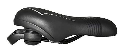 DANSI E-Bike Sattel, schwarz, mit Gel-Polsterung, 44202 - 3