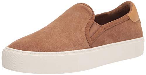 UGG Women's CAHLVAN Sneaker, Chestnut Suede, 7