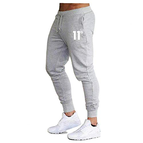 shentaotao New Men's Casual Slim Fit Tracksuit Sports Cargo Pants Fitness Bottoms Gym Skinny Joggers Sweat Trousers M-2XL