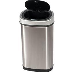 Efalock - Sensor Mülleimer Öffnet automatisch und schließt automatisch - 50 Liter