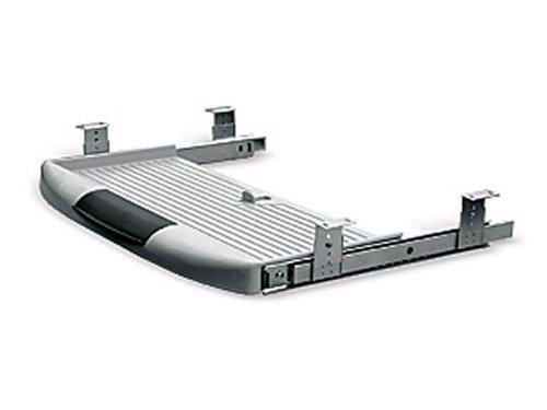 Tastaturauszug grau 550 x 230 mm für den Schreibtisch von Sotech