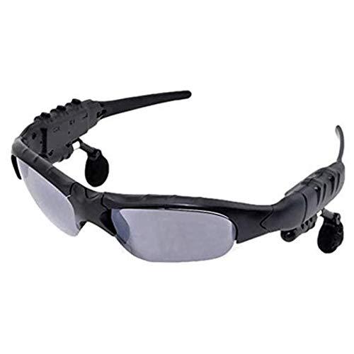 Jinserta Wireless Bluetooth Sonnenbrille Stereo Kopfhörer Digital Brillen mit Musik MP3-Player Musik Kopfhörer für iPhone 7 Android Smartphones und alle Geräte mit Bluetooth