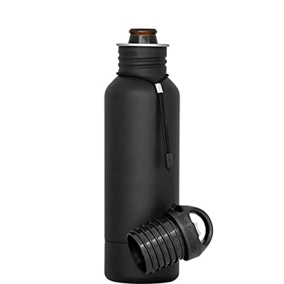 BottleKeeper - The Standard 2.0 - The Original Stainless Steel Bottle Holder and Insulator to Keep Your Beer Colder