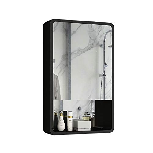 J+N Voller Spiegel Spiegelschrank Bad Höhe: 70cmAn Der Wand Montiert Badezimmer Spiegelschrank Moderne BadezimmerdekorationsmöbelFür Kosmetika, Rasierer, Medikamente Bad Spiegelschrank