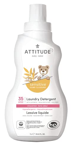 ATTITUDE Baby Laundry Detergent for Sensitive Skin