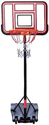 Adjustable Height Adjustable 150-200cm with 2 Wheels Basketball Hoop Portable Kids Basketball Stand Adult Teens The Best Choice Stable