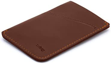 Bellroy Card Sleeve Premium Leather Card Holder or Minimalist Wallet Holds 2 8 Cards or Business product image
