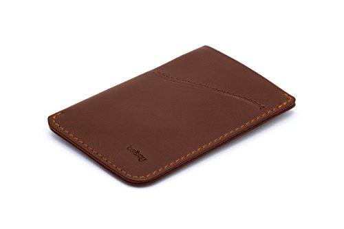 Bellroy Herren Leder Geldbörse und Karten Etui Card Sleeve, Farbe: Cocoa