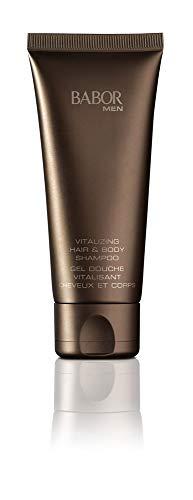 Babor Men Vitalizing Hair&Body Shampoo, vitaliserende douchegel voor huid en haar, eenvoudig en snel, 200 ml