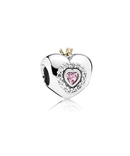 PANDORA - Pink Princess Charm Herz PANDORA 791375PCZ