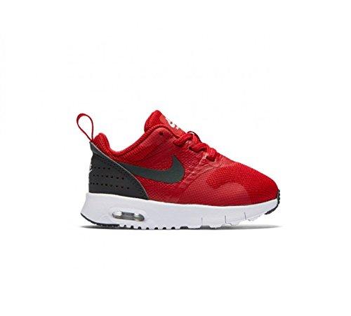 Nike Nike Baby Jungen 844106-600 Sneaker, Gym Red Anthracite White Black, 17 EU
