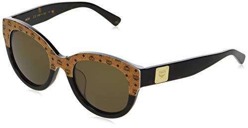MCM MCM608SA, Acetate Gafas de Sol Cognac Visettos-Havana Unisex Adulto, Multicolor, Standard