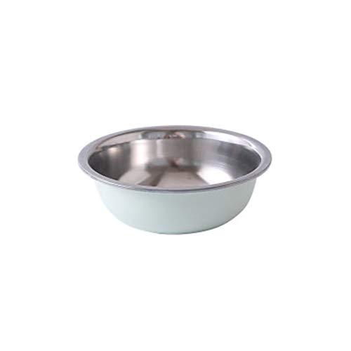 ZXCVB ZHENZEN Recipiente para Mezclar de Acero Inoxidable Profundización Familiar Cocina para Hornear Ensaladera Cuenco de Fideos Apilable Cocina multifunción (Size : 30cm)