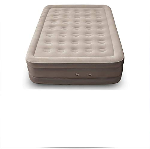 HRXS Creative inflatable mattress, thicker mattresses lazy siesta folding hard floors, suitable for the beach, picnics, living room bedroom,S