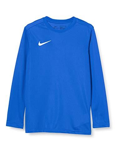 Nike Jungen Park Vii Jersey Long Sleeve Langarm-Pullover, Blau, L, BV6740