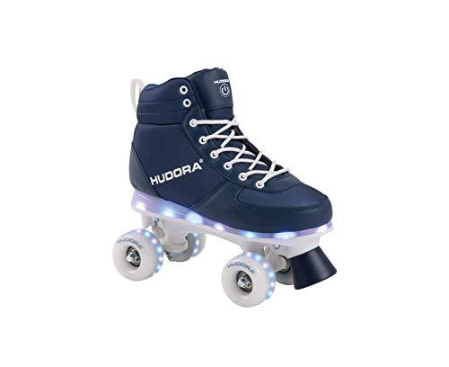Roller Skates Advanced, navy LED, Rollschuhe Gr. 35/36