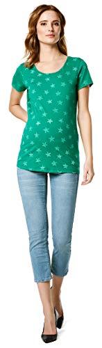SUPERMOM Tee SS Stars T-Shirt de Maternité, Vert (Cadmium Green P178), 38 (Taille Fabricant: Small) Femme
